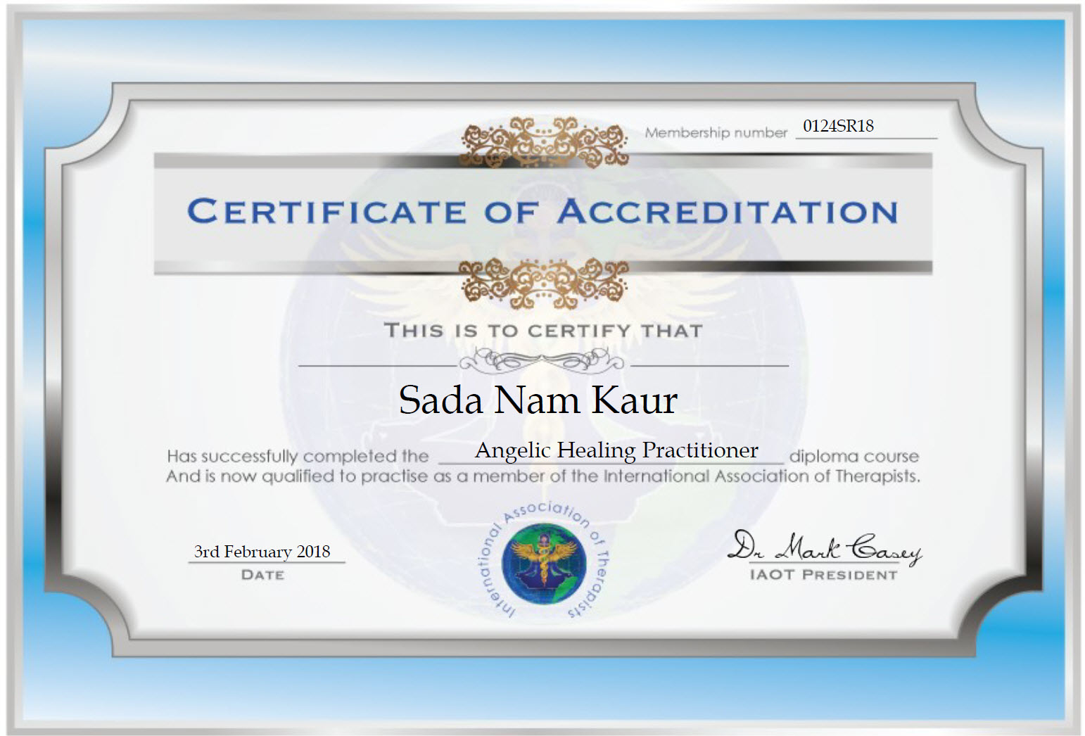 Certificates And Training Spirit Guides Me